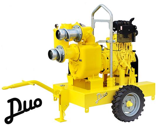 Pompe vuotoassistite: Duo - Pompe centrifughe autoadescanti vuotoassistite con depressore a ...