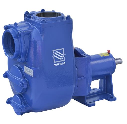 Pompe centrifughe: J - Pompe centrifughe autoadescanti  Varisco s.r.l.